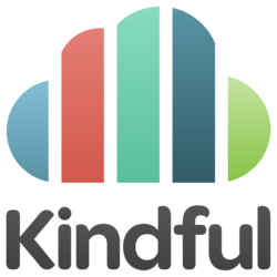 2649 2649 kindful logo stacked gradient