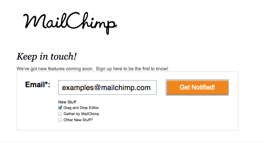 How-To Article: Unbounce's MailChimp Integration | MailChimp ...
