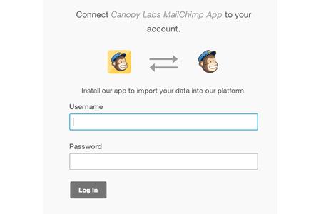 MailChimp installation