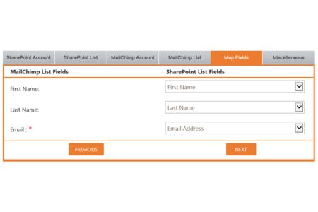 Field Mapping Tab