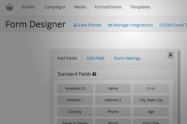Easily add a MailChimp form to your existing campaign