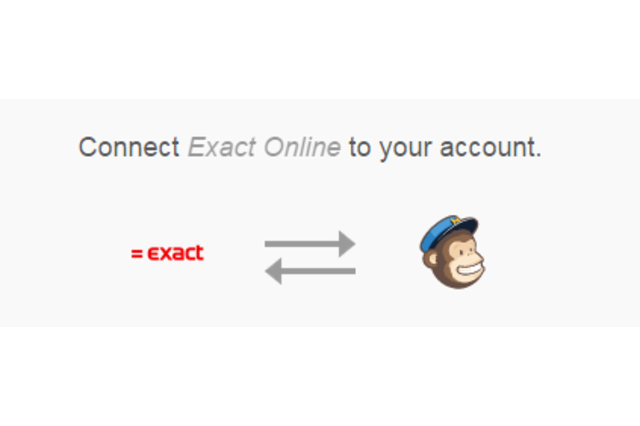 Connect Mailchimp to Exact Online in a few clicks