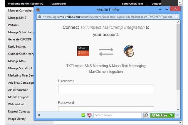 MailChimp Connect