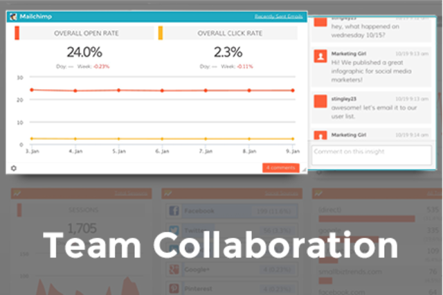 Share & collaborate with team members!