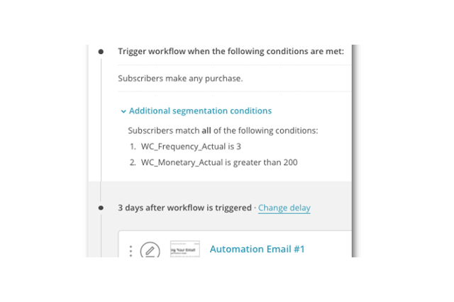 how to set up welcome email on mailchimp