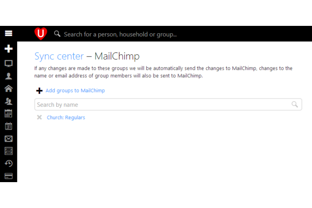 UCare Sync Center - MailChimp