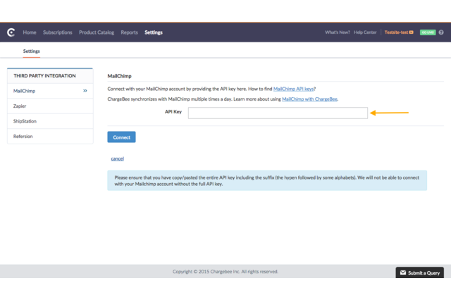 Chargebee - MailChimp Integration (1)
