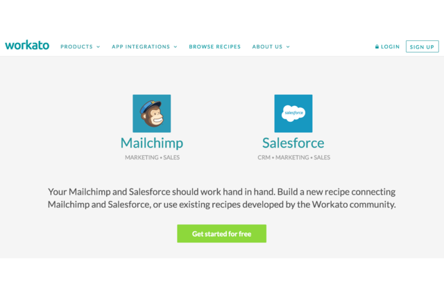 MailChimp + Salesforce