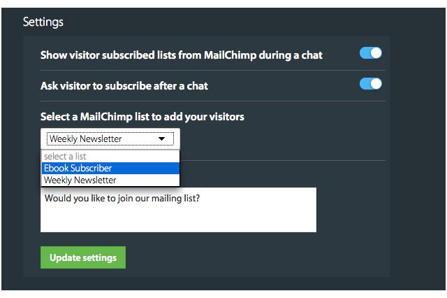 Admin view - One click configuration