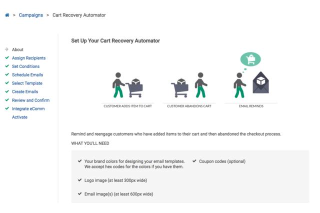 Cart Recovery Automator Setup