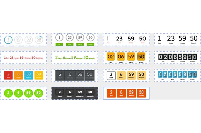 proTimer mailchimp countdown designs