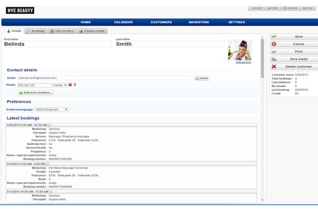 Customers Database