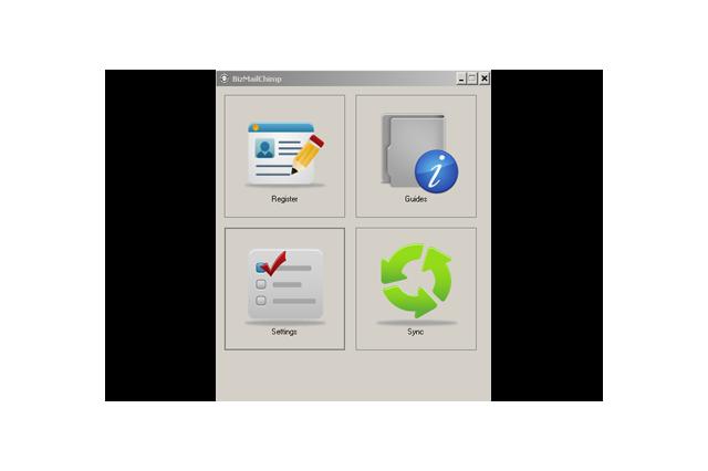 BizMailChimp Application Screenshot