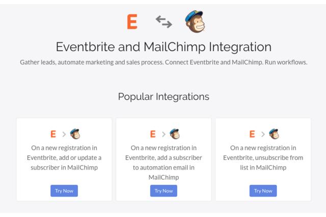 Eventbrite to Mailchimp Sync