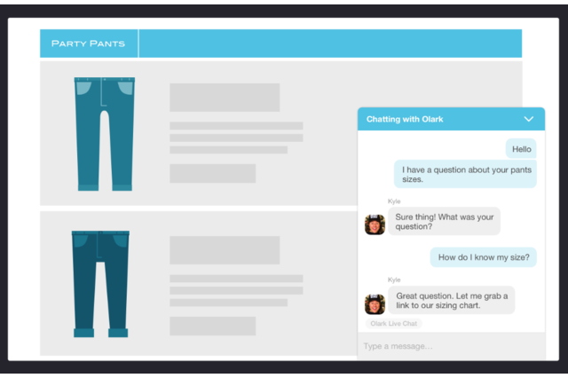 Make business human with easy conversations with your website visitors