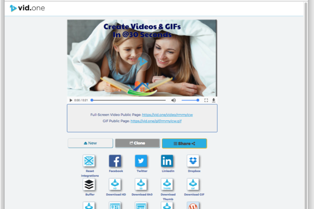 Share, Post & Download Videos and GIFs
