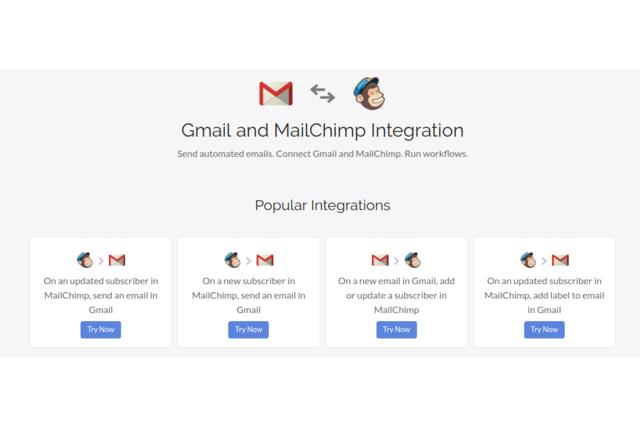 MailChimp Gmail Integration