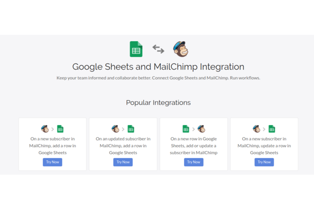 MailChimp and Google Sheets Integration
