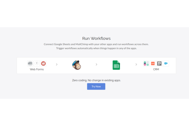 MailChimp and Google Sheets Workflow Management