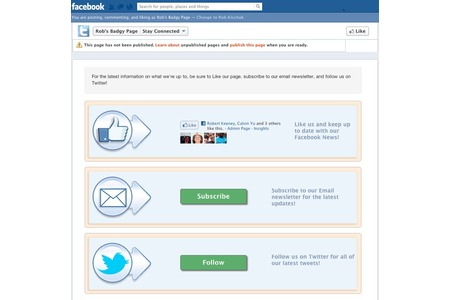 Super Simple Email Signup for Facebook