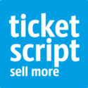 Thumb 308 308 tickescript logo square pantone with white text